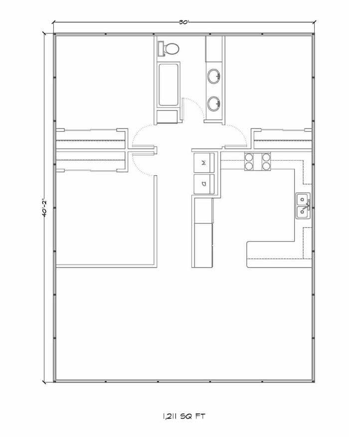 Home kits gambrel style for House kit plans