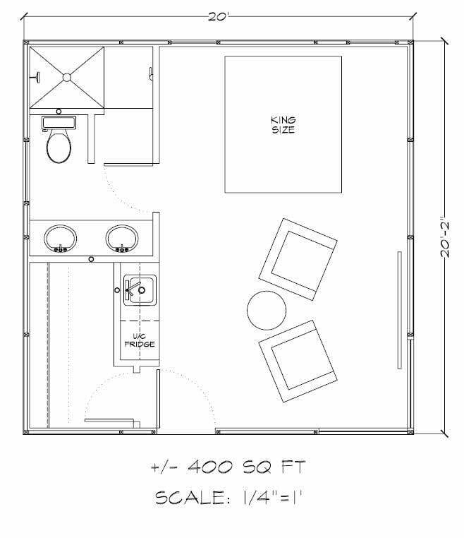 House kits sierra style home Tiny house floor plan kit